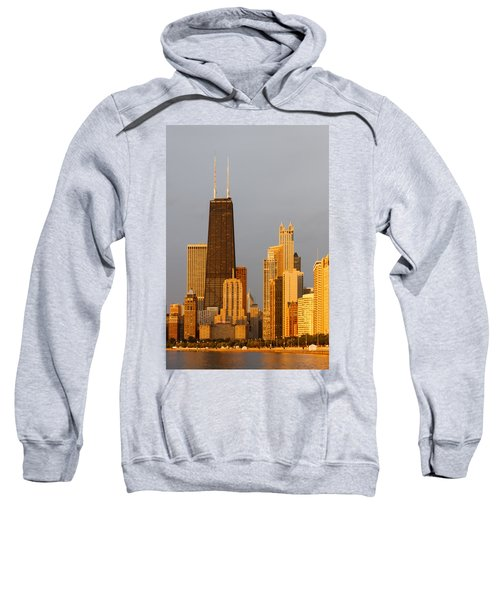 John Hancock Center Chicago Sweatshirt by Adam Romanowicz