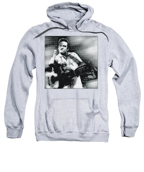 Johnny Cash Rebel Sweatshirt