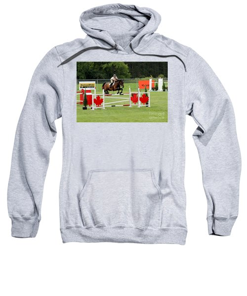 Jumping Canadian Fence Sweatshirt