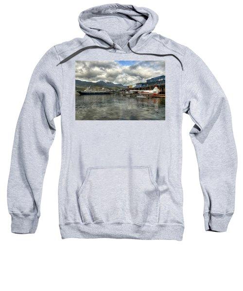 Juneau's Hangar On The Wharf Sweatshirt