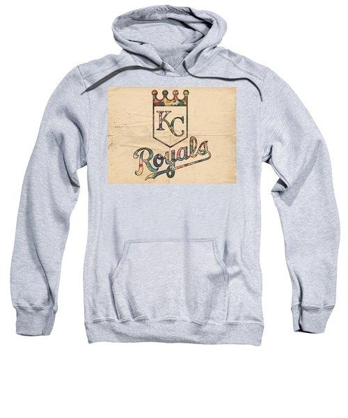 Kansas City Royals Poster Vintage Sweatshirt