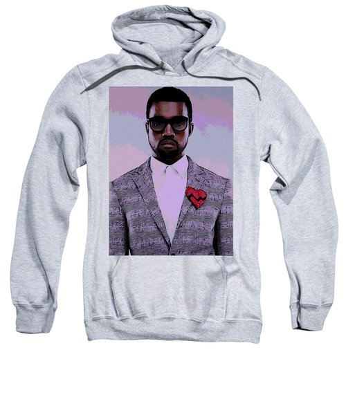 Kanye West Poster Sweatshirt