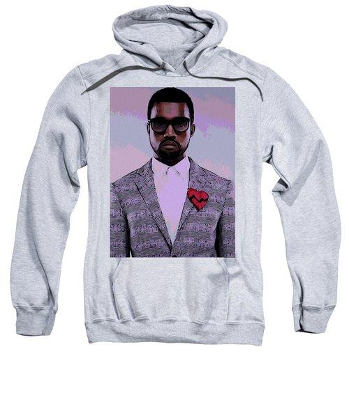 Kanye West Poster Sweatshirt by Dan Sproul
