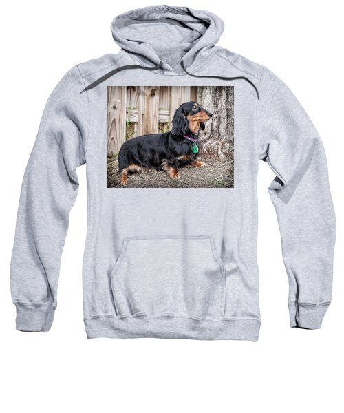 Sweatshirt featuring the photograph Katie by Jim Thompson