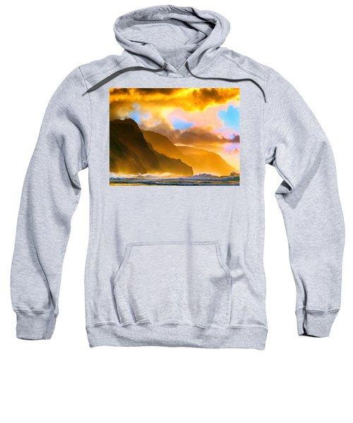 Ke'e Beach Sunset Sweatshirt