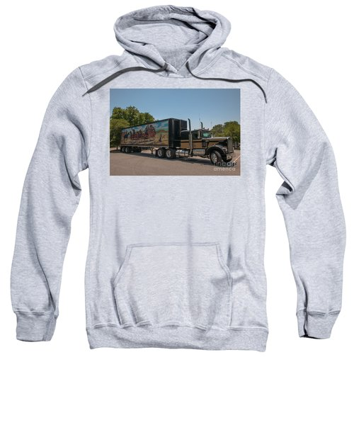 Keep Those Wheels A Truckin Sweatshirt