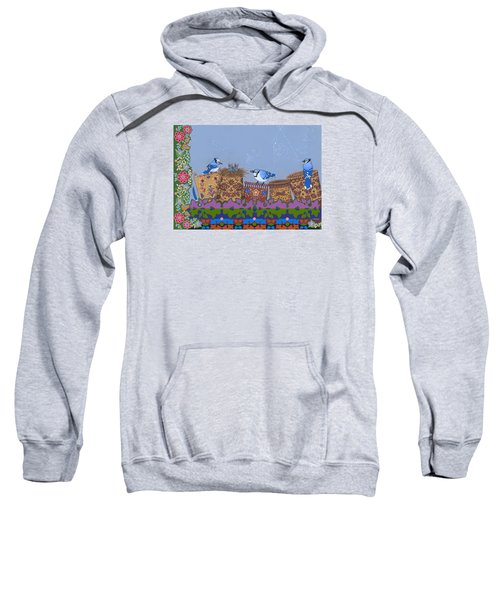 Sweatshirt featuring the painting Keeper Of Songs by Chholing Taha