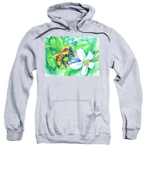 Key Lime Honeybee Sweatshirt