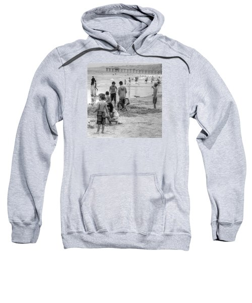 Kids At Beach Sweatshirt
