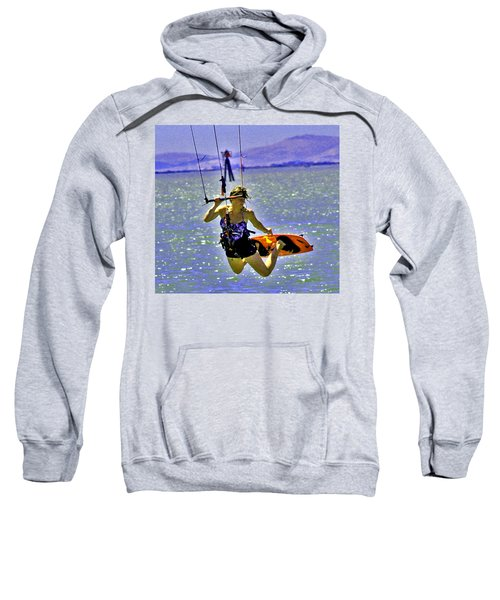 A Kite Board Hoot Sweatshirt