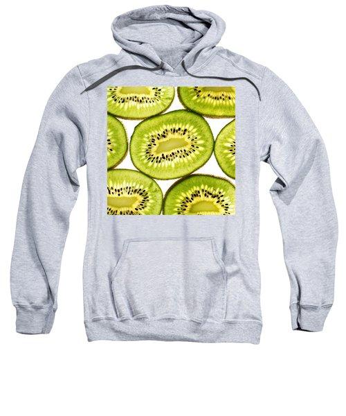 Kiwi Fruit IIi Sweatshirt by Paul Ge