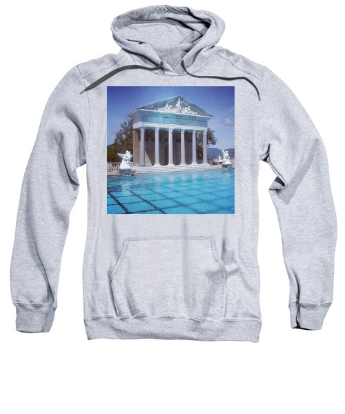 La Dolce Vita At Hearst Castle - San Simeon Ca Sweatshirt