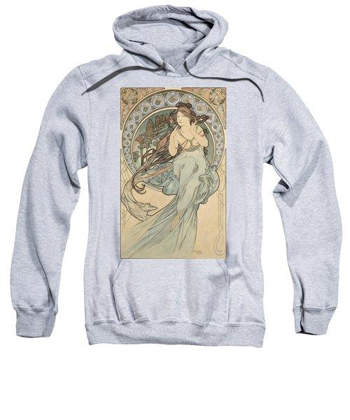 La Musique, 1898 Watercolour On Card Sweatshirt