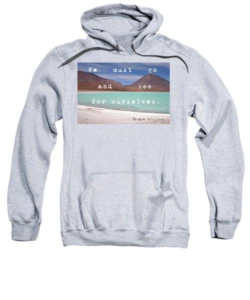 Laguna Verde- Bolivia Sweatshirt