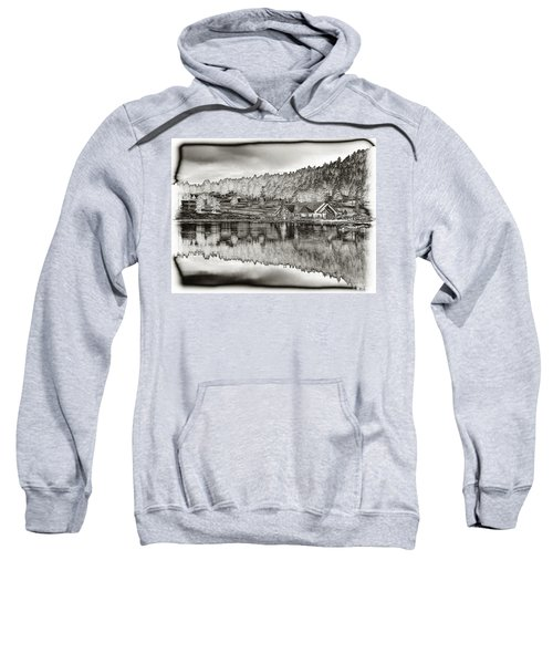 Lake House Reflection Sweatshirt