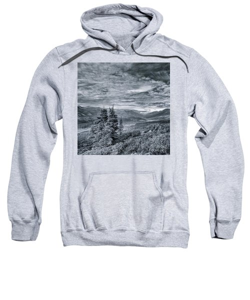 Land Shapes 18 Sweatshirt