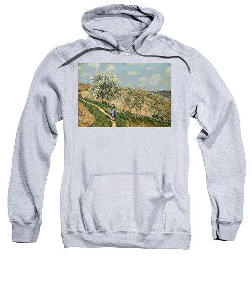 Landscape. Spring At Bougival Sweatshirt