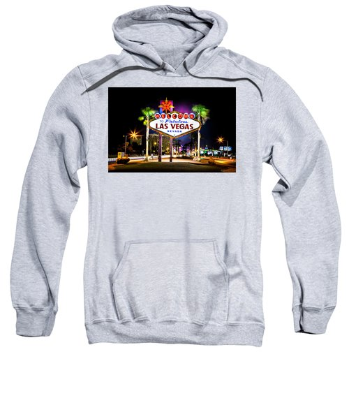 Las Vegas Sign Sweatshirt