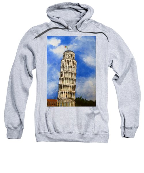 Leaning Tower Of Pisa Sweatshirt