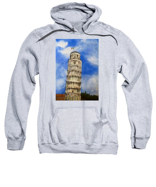 Leaning Tower Of Pisa Sweatshirt