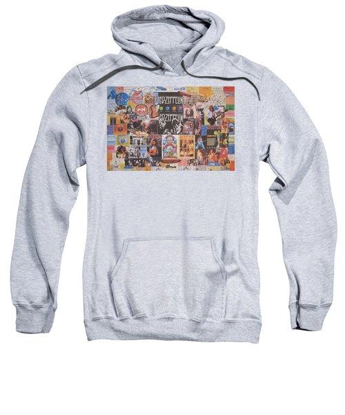 Led Zeppelin Years Collage Sweatshirt