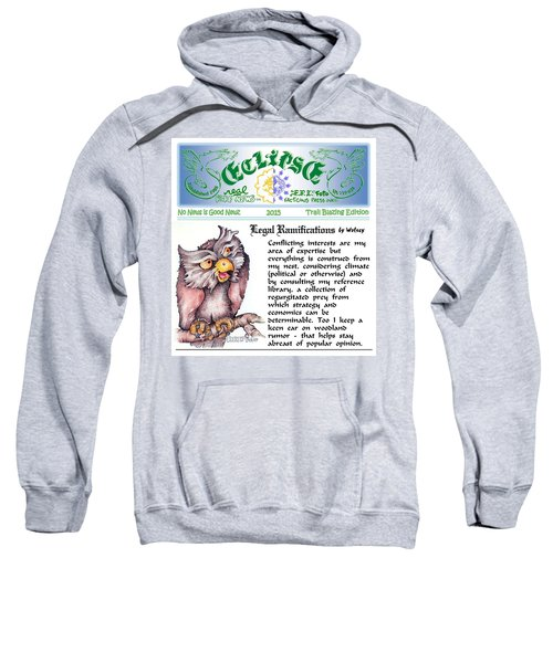 Real Fake News Legal Column 1 Sweatshirt