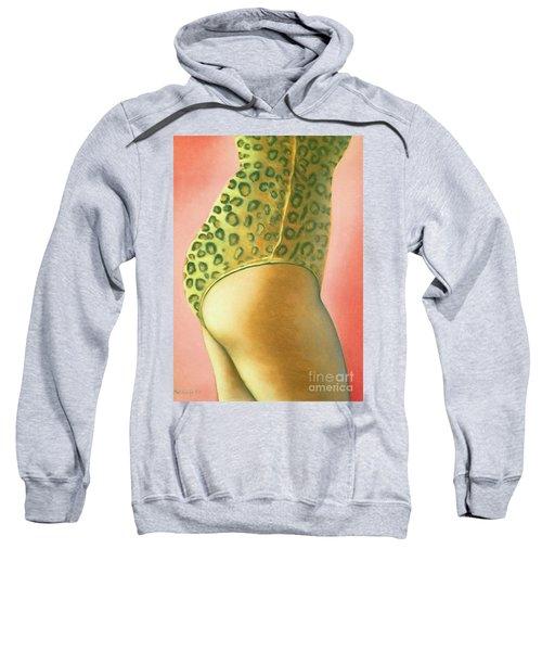 Leopard Suit Sweatshirt
