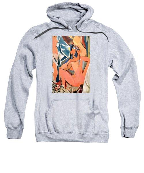Les Demoiselles D'avignon Picasso Detail Sweatshirt
