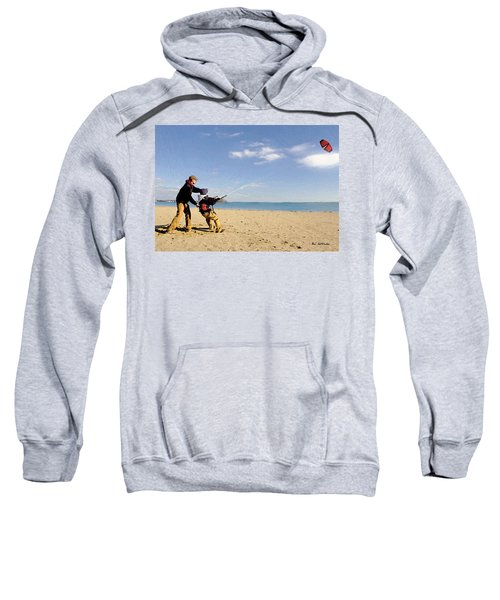 Let's Go Fly A Kite Sweatshirt
