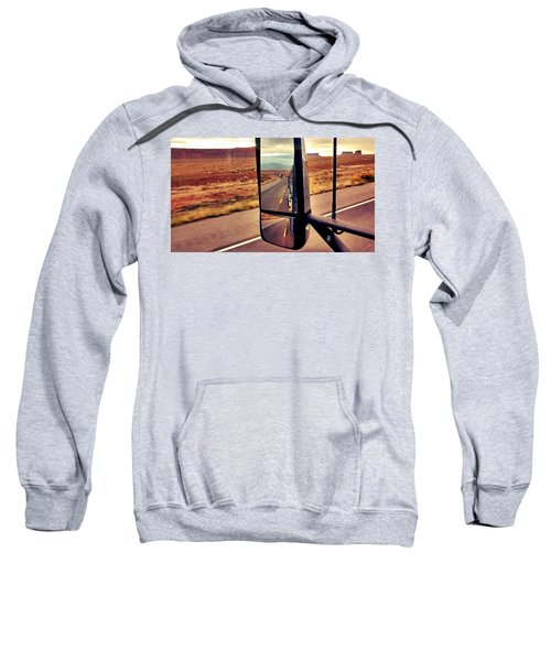 Life In My Rearview Mirror Sweatshirt
