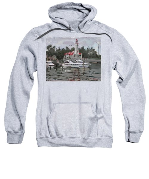 Light House In Mississauga On Sweatshirt