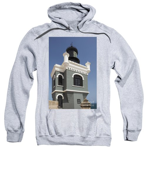Lighthouse At El Morro Fortress Sweatshirt