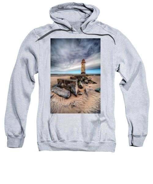 Lighthouse At Talacre  Sweatshirt