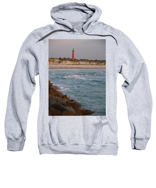 Lighthouse From The Jetty 2 Sweatshirt