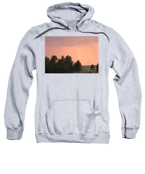 Lighting Strikes In Custer State Park Sweatshirt