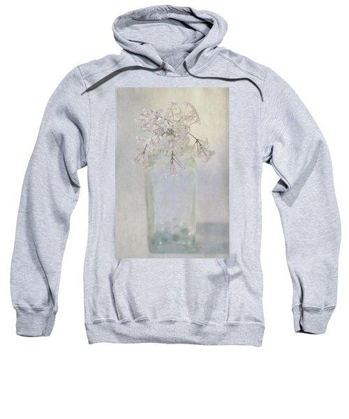 Lilac Flower Sweatshirt