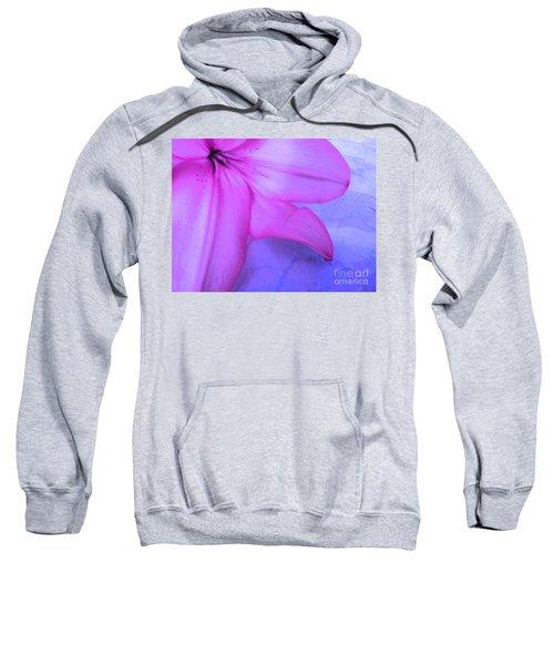 Lily - Digital Art Sweatshirt