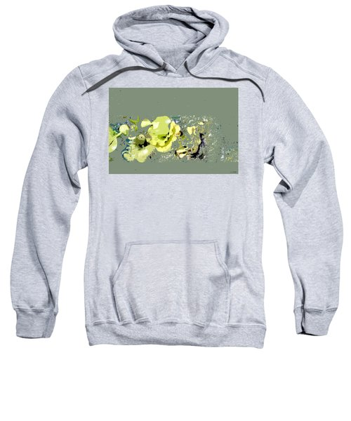 Lily Pads - Deconstructed Sweatshirt