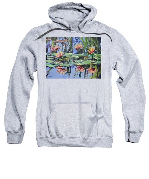 Lily Pond Reflections Sweatshirt