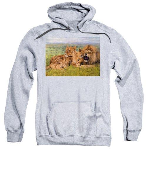 Lion Family Sweatshirt