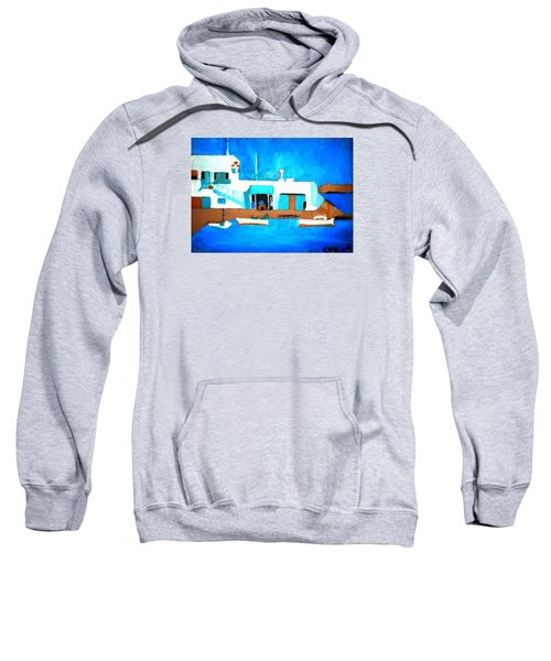 Paros  Cute Spot On Greek Island Sweatshirt