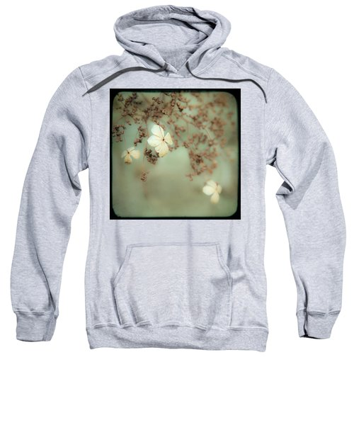 Little White Flowers - Floral - The Little Things In Life Sweatshirt