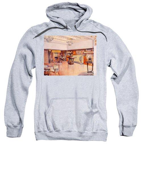Living Room, 1905 Sweatshirt