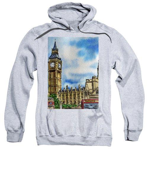 London England Big Ben Sweatshirt