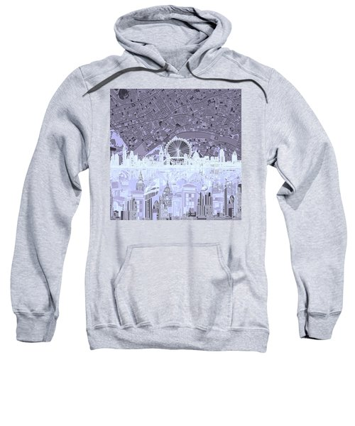 London Skyline Abstract 10 Sweatshirt
