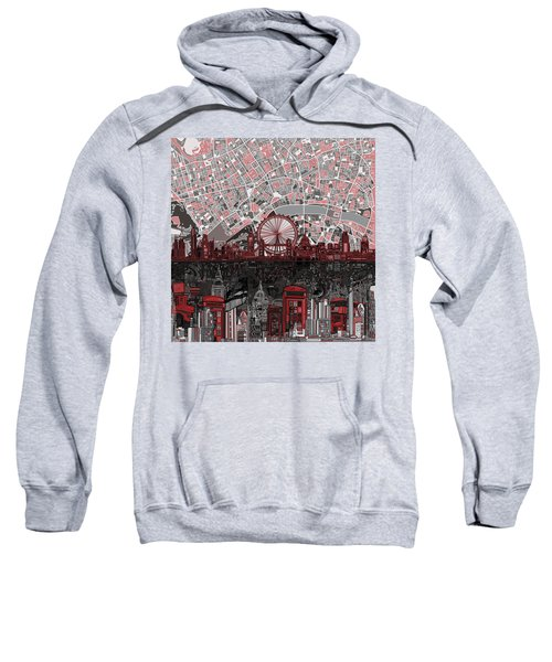 London Skyline Abstract 6 Sweatshirt