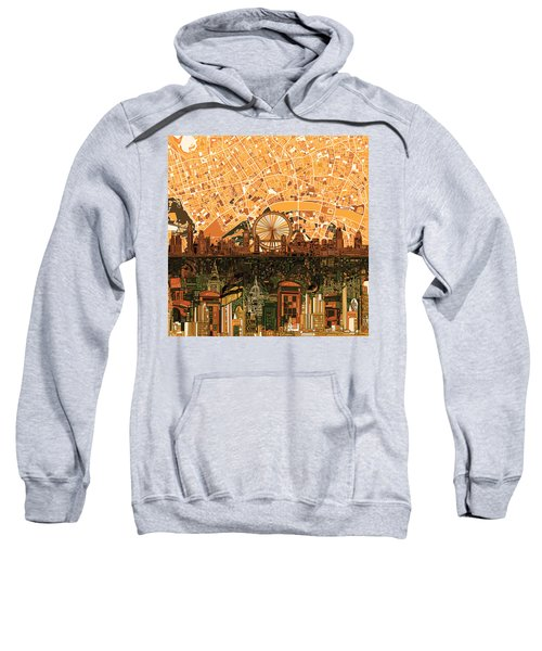 London Skyline Abstract 7 Sweatshirt