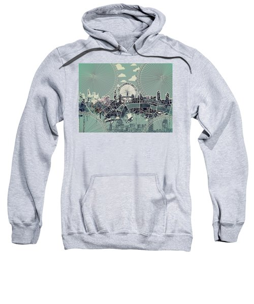 London Skyline Vintage Sweatshirt