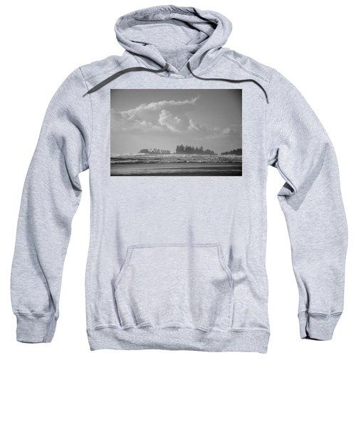 Long Beach Landscape  Sweatshirt