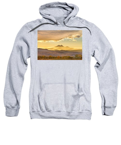 Longs Peak Autumn Sunset Sweatshirt by James BO  Insogna